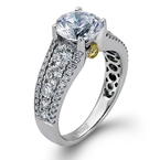 Simon G MR1694-A ENGAGEMENT RING