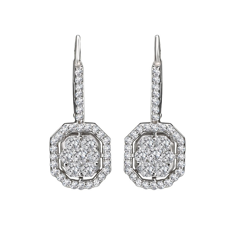 Radiance Ladies Fashion Diamond Earrings