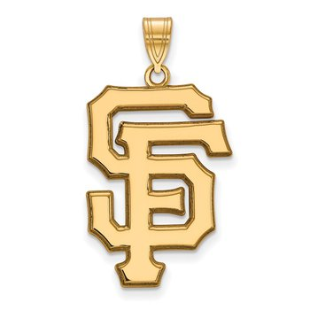 Gold San Francisco Giants MLB Pendant
