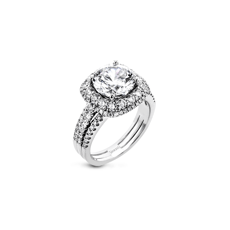 Simon G MR2622 ENGAGEMENT RING
