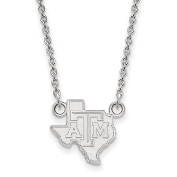 Gold Texas A&M University NCAA Necklace