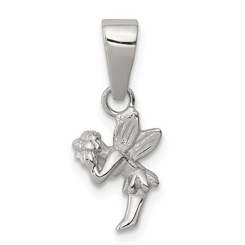 Sterling Silver Children's Fairy Pendant
