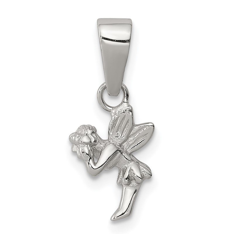 Quality Gold Sterling Silver Children's Fairy Pendant