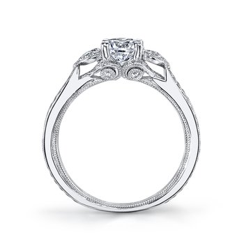 MARS 26407 Diamond Engagement Ring 0.55 Ctw.