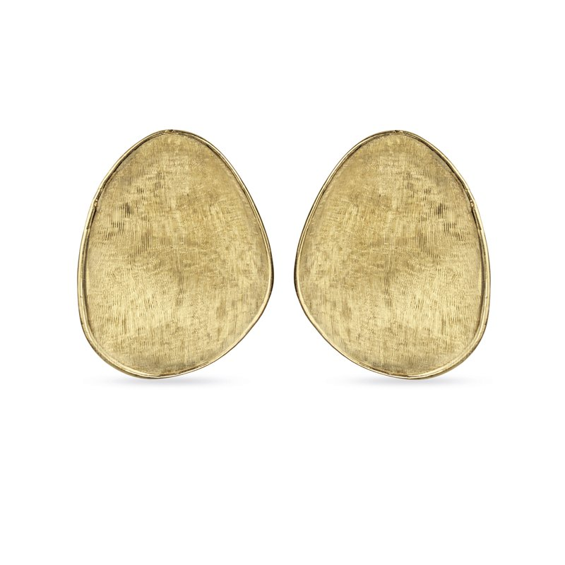 Marco Bicego Lunaria Yellow Gold Large Stud Earrings