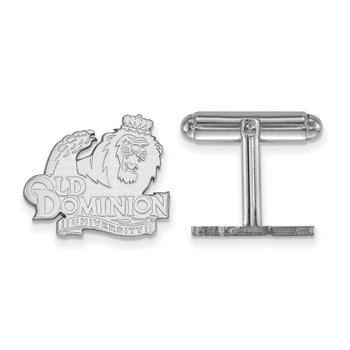 Sterling Silver Old Dominion University NCAA Cuff Links