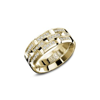 Carlex Generation 1 Ladies Fashion Ring WB-9318Y-S6