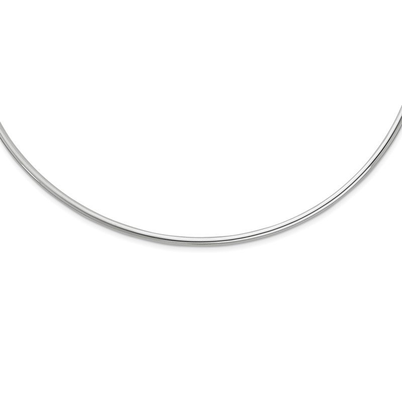 Quality Gold Sterling Silver Rhodium-plated Neck Collar Necklace