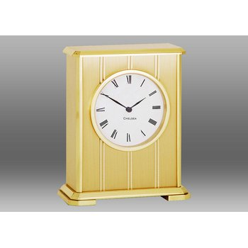 Embassy Clock in Brass