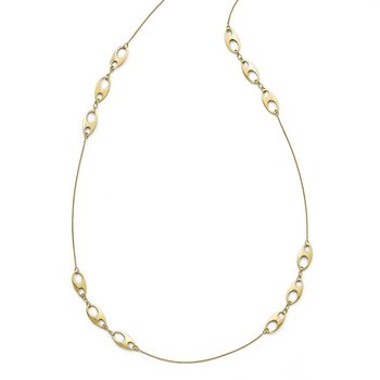 Leslie's 14k Polished Necklace
