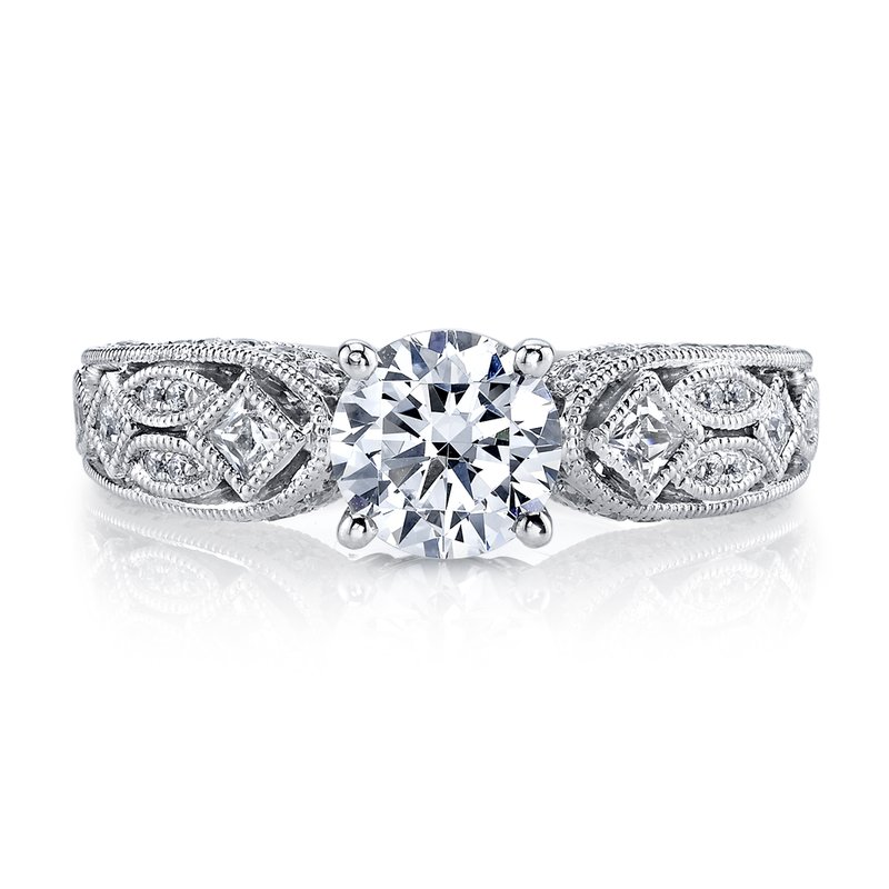 MARS 26177 Diamond Engagement Ring 0.14 ct pr, 0.42 ct rbc