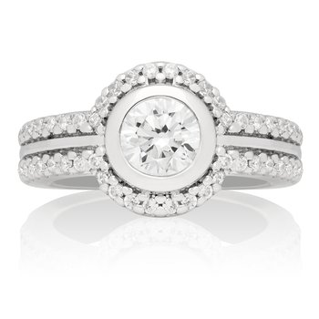 Ares Classic Bridal Ring