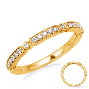 Yellow Gold Stackable Band