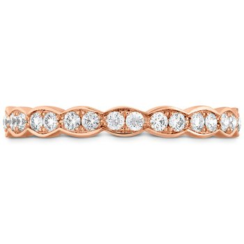 0.5 ctw. Lorelei Floral Eternity Band