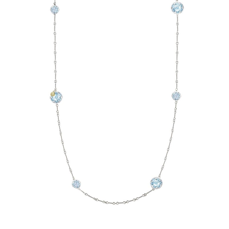 Tacori Fashion Gem Drops Necklace featuring Sky Blue Topaz