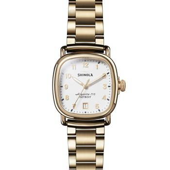The Guardian 36mm Womens White Watch
