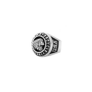 Indian Logo Insignia Ring