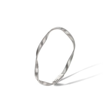 Marrakech White Gold Bangle