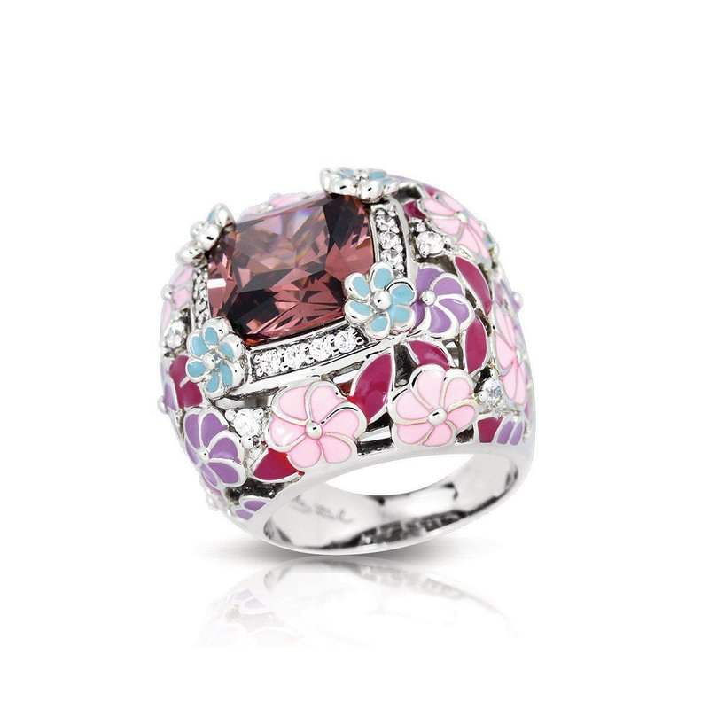 Belle Etoile Enchanted Garden Ring