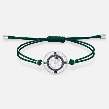 Sand Bracelet, Green, Stainless steel
