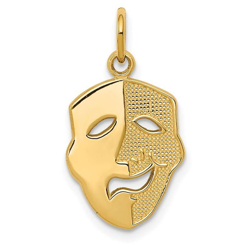 Quality Gold 14k Comedy Mask Charm