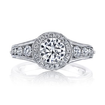 MARS 25856 Diamond Engagement Ring 0.73 ct tw