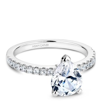 Noam Carver Fancy Engagement Ring B017-03A