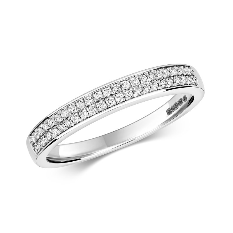 Treasure Diamond Eternity Ring 2 Row