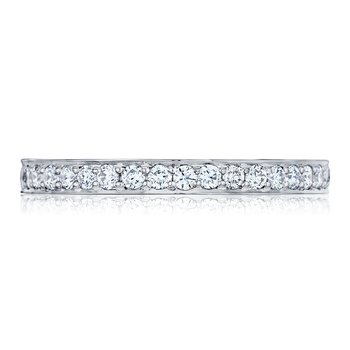 Dantela Diamond Platinum Wedding Band