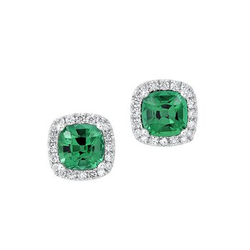 Emerald Earrings-CE4204WEM