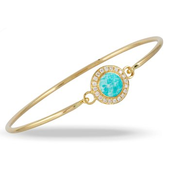 Amazon Breeze Halo Bangle 18KY