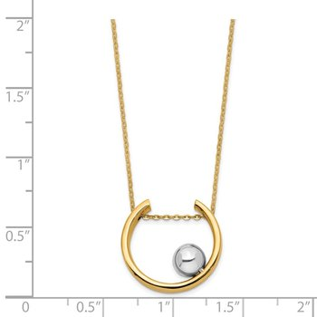 14K Two-tone Necklace