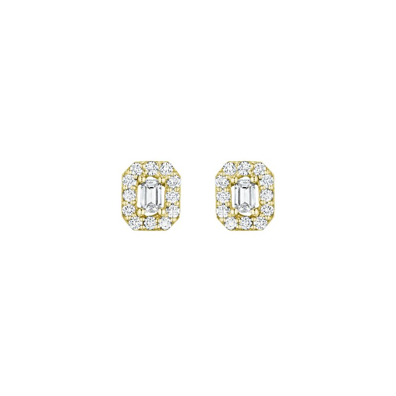 Penny Preville Emerald-Cut Stud Earrings