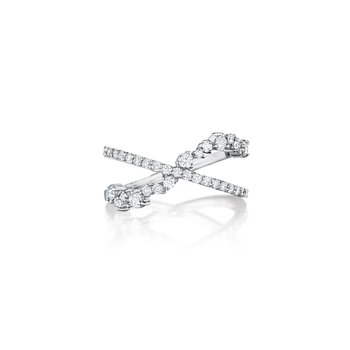 Stardust Criss Cross Ring