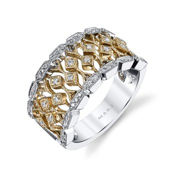MARS 26752 Fashion Ring, 0.27 Ctw.