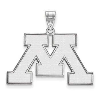 Sterling Silver University of Minnesota NCAA Pendant