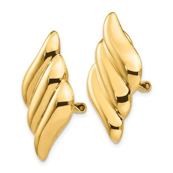 14k Non-pierced Fancy Earrings