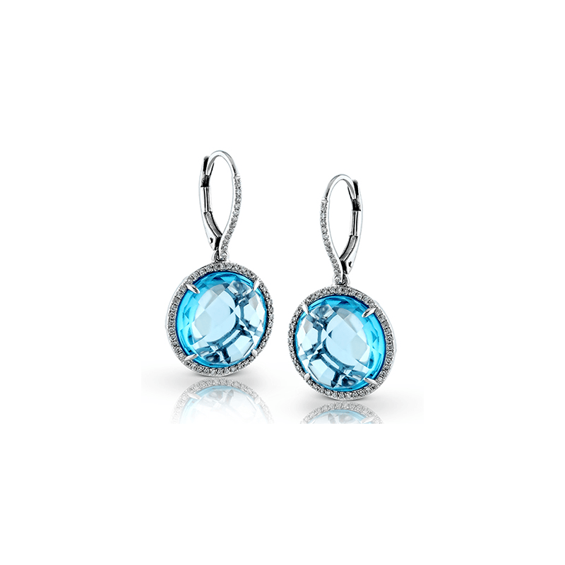 Zeghani ZE444 COLOR EARRING
