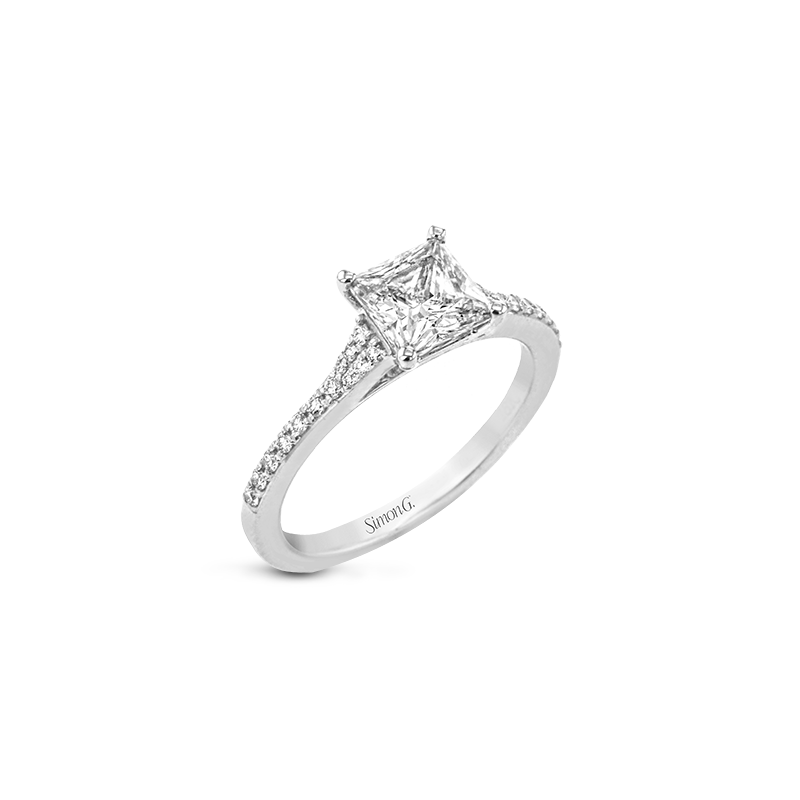 Simon G LR2507-PC ENGAGEMENT RING