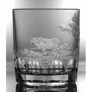 Buffalo Double Old Fashioned Glass