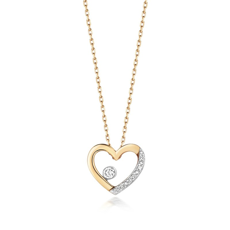 Treasure Diamond Necklace Heart