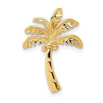 14k Palm Tree Slide
