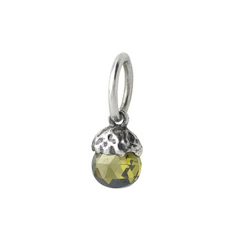 Tiny Light Birthstone Charm - August