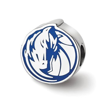 Sterling Silver Dallas Mavericks MLB Bead