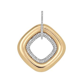 Diamond Fashion Pendant - FDP4799RW