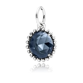 Midnight Star Pendant, Midnight Blue Crystal