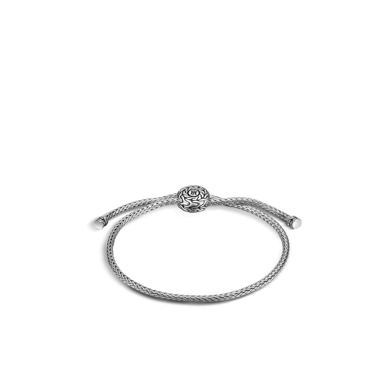 JOHN HARDY Classic Chain Pull Through Bracelet in Silver