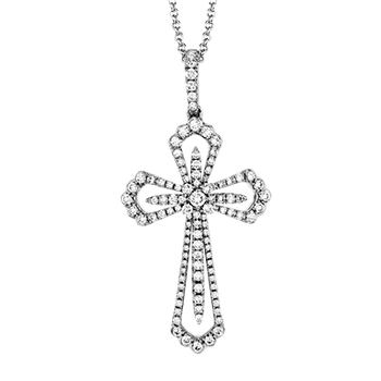 ZP837 CROSS PENDANT