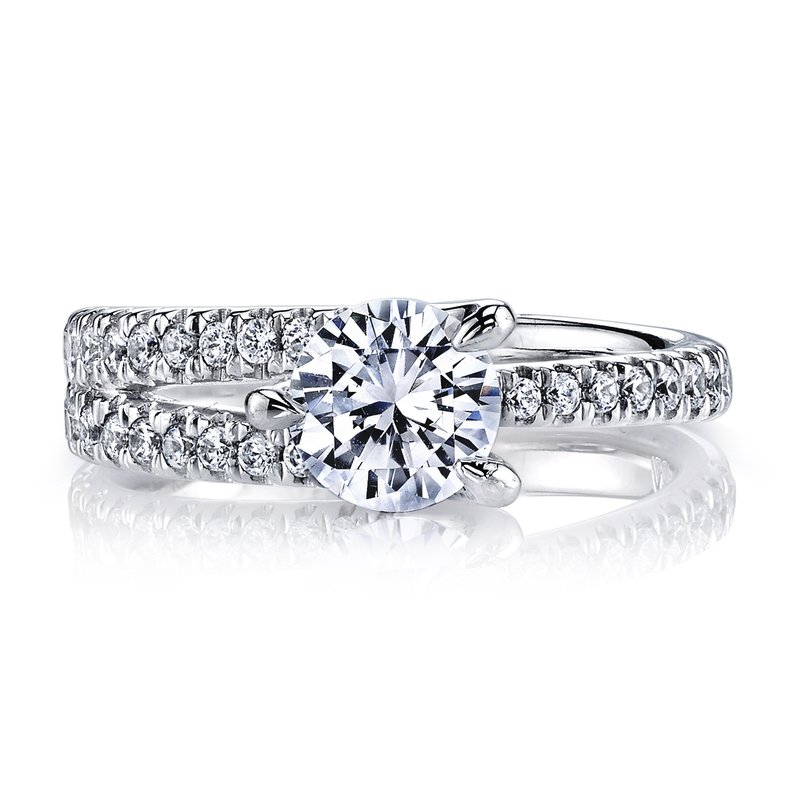 MARS Jewelry Diamond Engagement Ring 0.45 ct tw