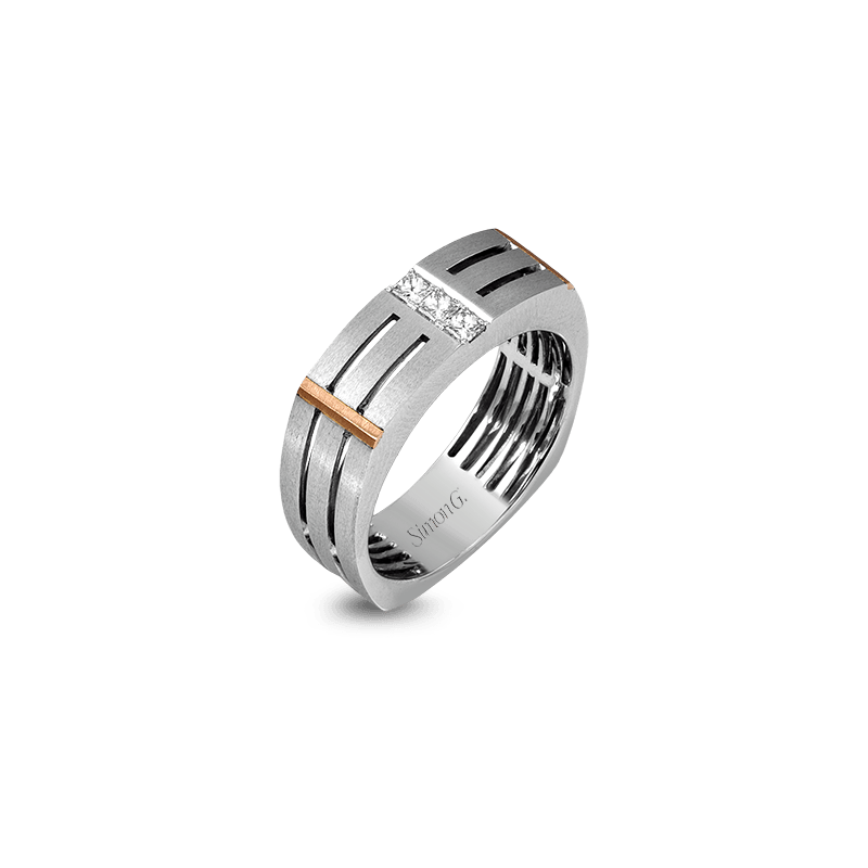 Simon G MR2107 MEN RING